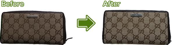 財布のクリーニング