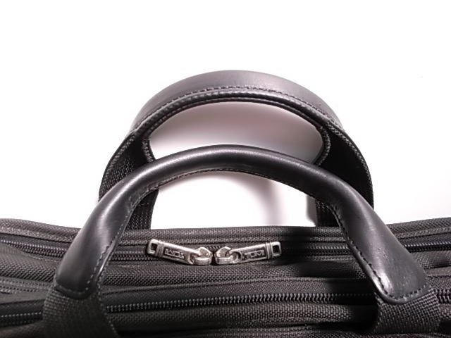 修理したTUMIの鞄