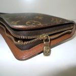 ルイヴィトンの財布のファスナー