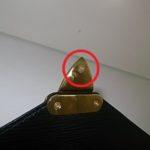 ルイヴィトンのバッグの金具修理