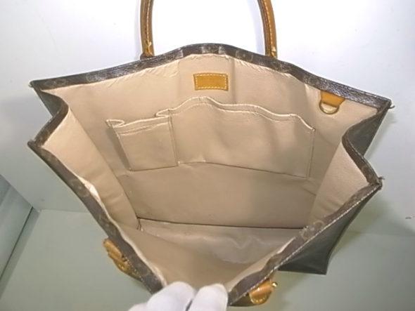 ルイヴィトンバッグの内張り修理