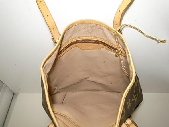 ルイヴィトンのバケットの内張り修理