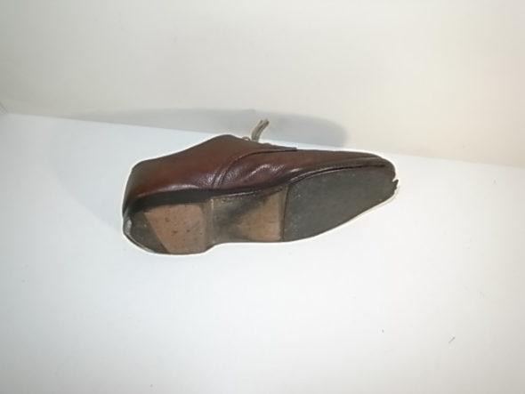 靴のソール修理-作業前