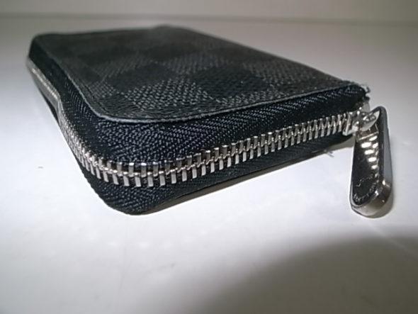 ルイヴィトンの財布のファスナー修理 - 作業後