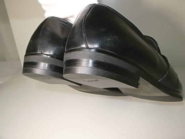 革靴のかかと修理after