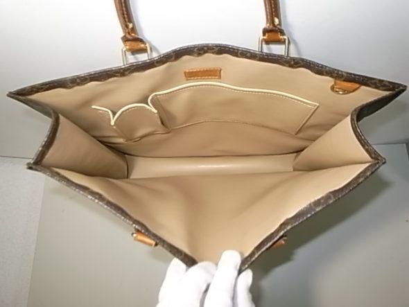 ルイヴィトンバッグの内張り修理-作業後