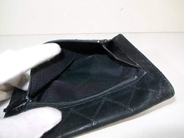 シャネルの財布の内張修理-作業後