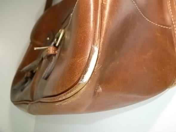 鞄のパイピング修理