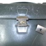 ダンヒルの鞄のロック修理