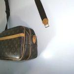 バッグのヌメ革修理