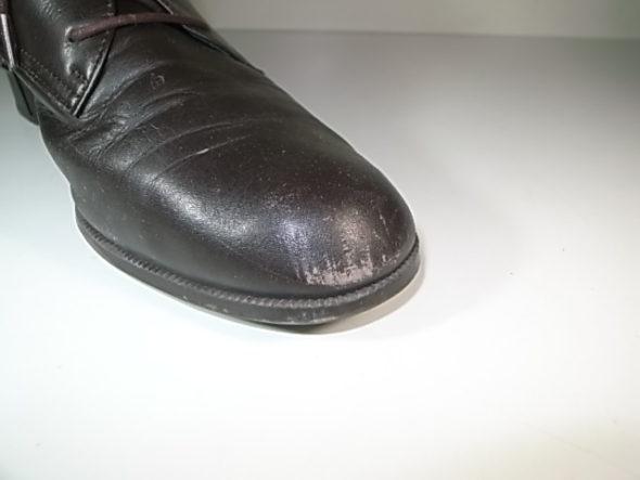 靴のクリーニングと補色