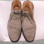 靴のカビ取りクリーニング