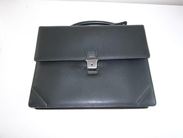 ダンヒル鞄の持ち手修理