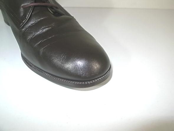 靴のクリーニングと補色-作業後