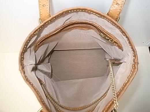 バッグの内張生地交換