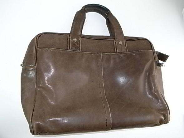 コーチのレザーバッグ