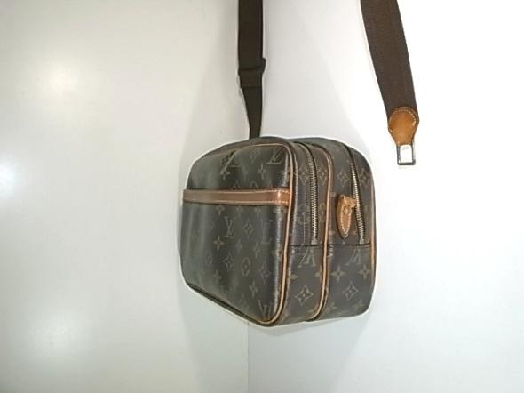 ヴィトンのリポーターバッグ
