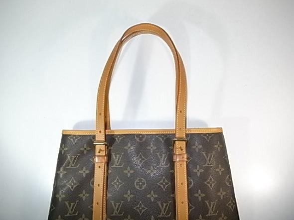 鞄の持ち手と縁革交換