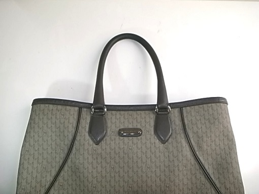 鞄のハンドルの付け根補強