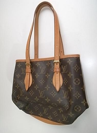 ヴィトンのバケツ型バッグ