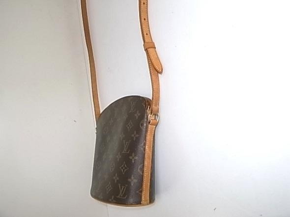 ヌメ革修理したバッグ