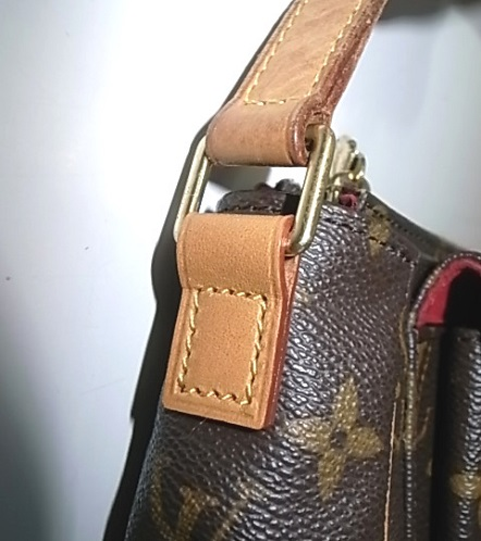 ヌメ革交換をしたヴィトンのバッグ