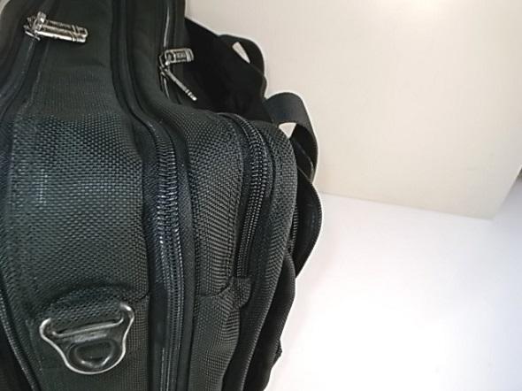 ファスナー交換したTUMI鞄