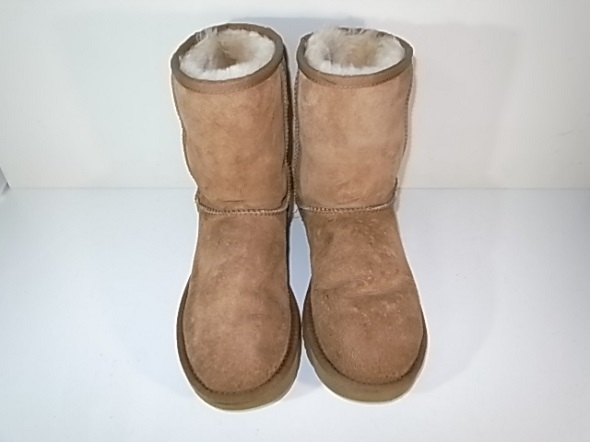 UGGのブーツを自宅で洗った状態