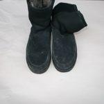 ブーツのカビをクリーニング