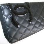 シャネルのマトラッセの財布