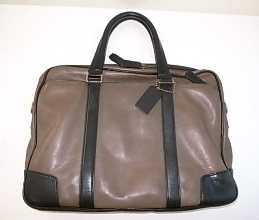 COACHのビジネス鞄