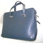 ダンヒルの革鞄