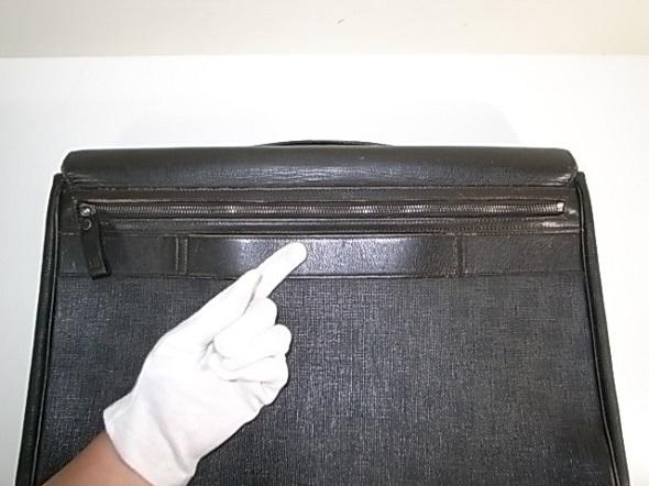 ダンヒルのファスナー修理