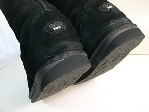 emuのブーツ修理後