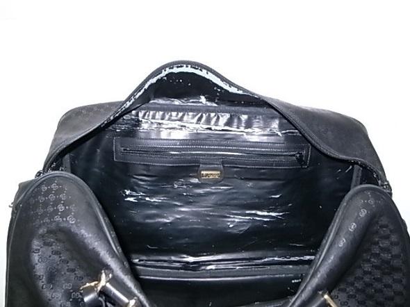 GUCCIバッグの内張り劣化