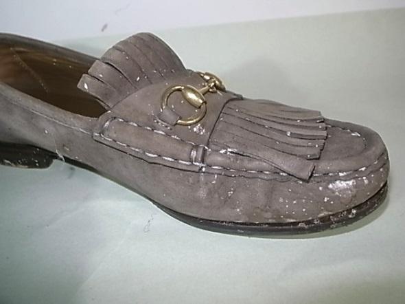 スエード靴の汚れ