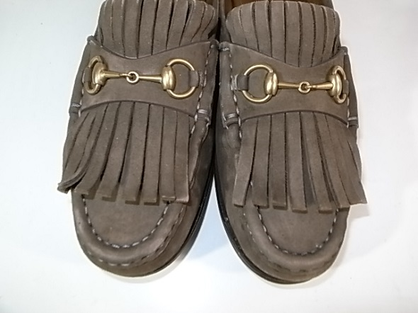 スエード靴のクリーニング