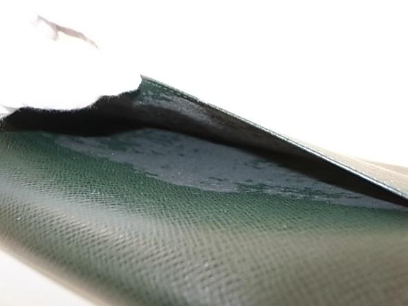 バッグの外ポケットの修理