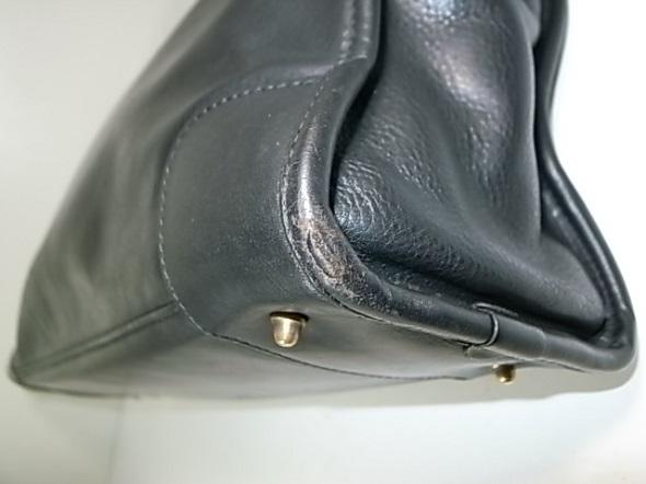 革鞄のパイピング破れ