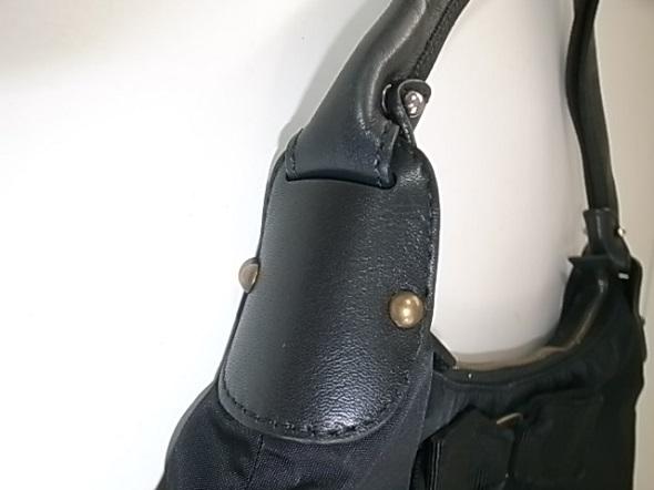 バッグ修理後の上質な革