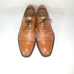 革靴の色スレと剥げ