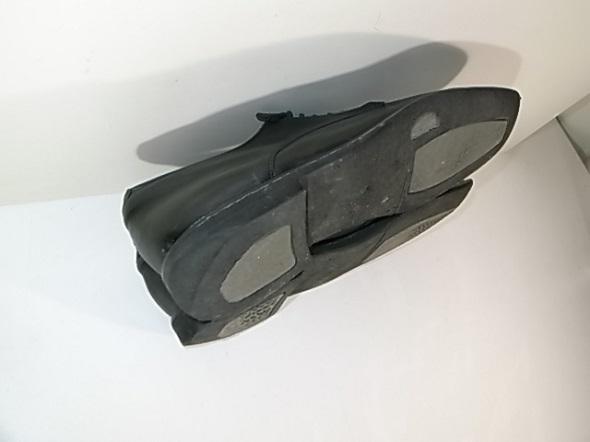 革靴のソール摩耗
