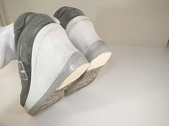ウェッジソールの靴修理後