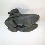 ソール交換前のブーツ
