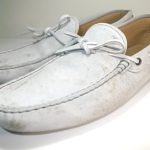 靴の油染み