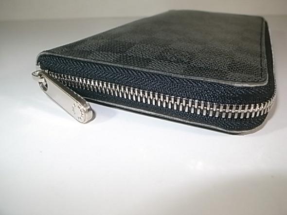 ファスナー交換した財布