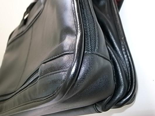 パイピング修理後の鞄