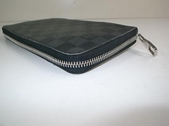 ファスナー交換したダミエの財布