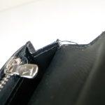 財布の縫い糸ほつれ
