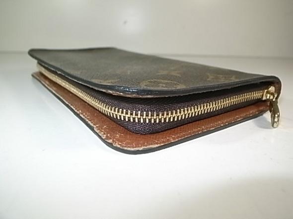 ルイヴィトン財布のファスナー修理完了